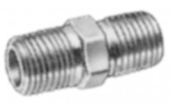 Fittings - brass hex nipple for pressure washer