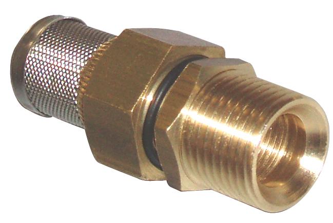 Filter for pressure washer float tank