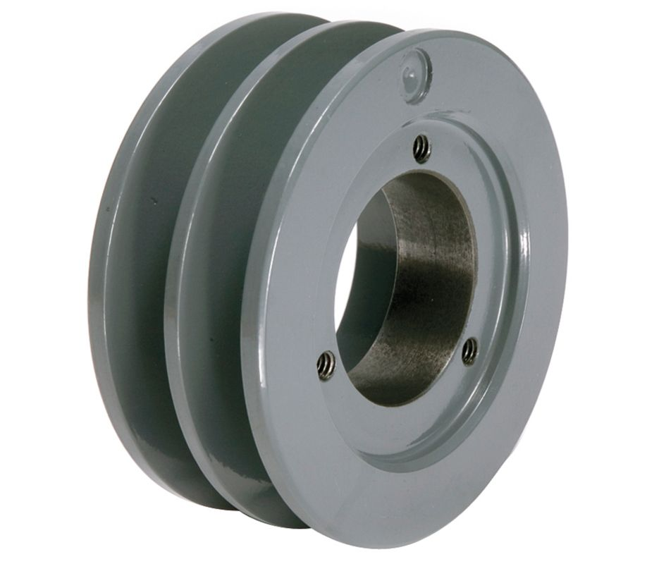 Pump and engine pulley