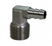 Fittings - brass 90 degree barb for pressure washer
