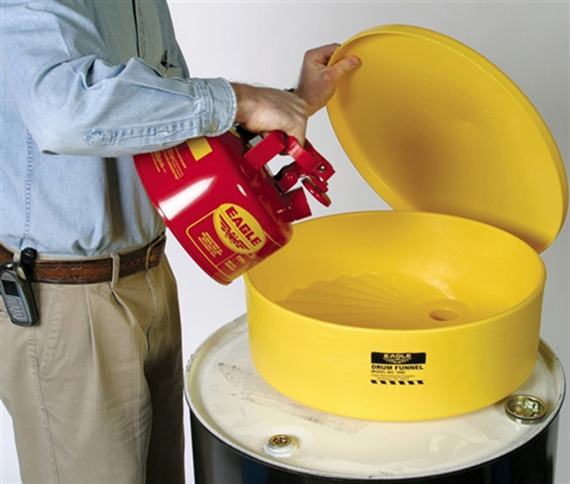 55 gallon drum funnel with lid