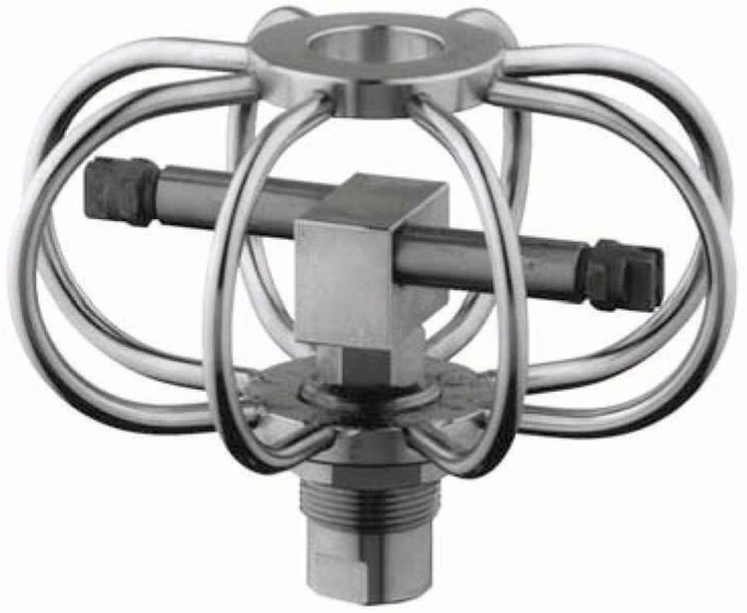 restaurant exhaust hood fixed swivel