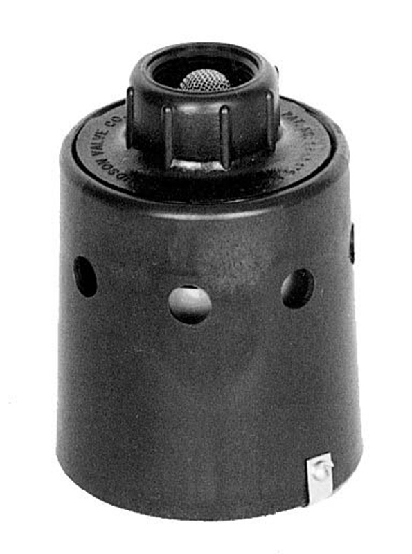 Hudson float valve for pressure washer water tank