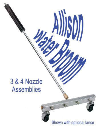 Pressure Washer Water Broom