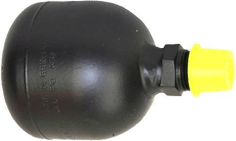 non rechargable pump pulsation dampener
